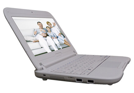 E11IS1, Intel classmate PC - Clamshell