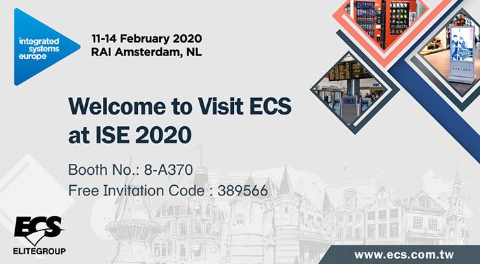 ISE 2020 Invitation