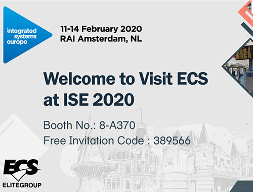 Welcome to Visit ECS at ISE 2020
