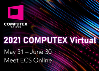 ECS will reveal brand new products and smart city solutions at COMPUTEX Virtual 2021