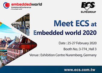 ECS Embedded World 2020 - Booth 3-774_Hall 3